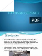Left hand turnout.pptx