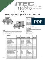 PROYECTO Auto Antiguo de Colección Pick-Up