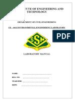[EnvironmentAL Engineering Laboratory Manual