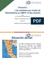 Estrategia contención de traslados UMFH  13 por medio de Teleconsulta