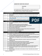 General Lab Inspection Checklist