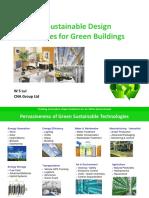 Emerging Sustainable Design Technologies for Green Bldgs