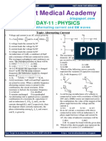 Day 11 Physics Assignment AC