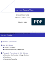 Nonlinear Least Squares Theory - Lecture Notes