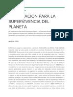 #PorUnPactoUniversal Manifiesto impulsado por el Campus Maria Zambrano de Segovia
