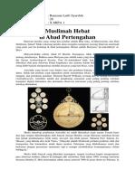 Artikel Ilmuwan Muslimah