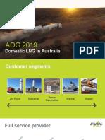 190314 AOG Australian Domestic LNG Market