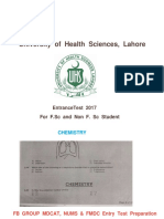 Chem Portion Mdcat 2k17