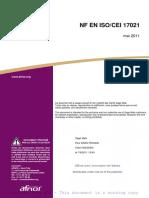 ISO 17021- Évaluation de La Conformité