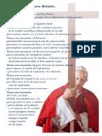 Oración Pablo VI_Cristo Único Mediador
