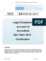 EA-7_04 – Legal Compliance as a Part of Accredited ISO 14001_2015 Certification