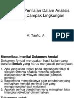 Mekanisme Penilaian Dokumen AMDAL