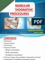 Mandibular Orthognathic Procedures