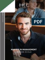 Master in Management