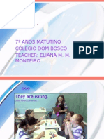 English PPT - Prsent Continuos