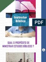 INSTRUTOR BÍBLICO