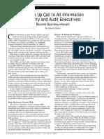 Cisa journal audit executives review