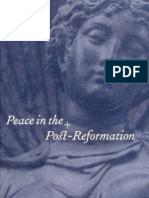 J. Bossy Peace in the Post Reformation