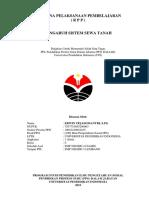RPP Pengaruh Sistem Sewa Tanah - Kelas VIII SMP - Erwin Tejasomantri