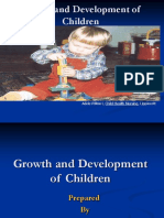 Growth and Development of Children
