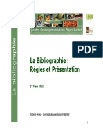 4- Regles Bibliographie - Citation