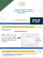 Penjelasan Teknis TPA Online Seleksi Calon Asesor _1553951368