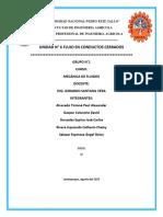 Informe Resumen N6 de Mecánica de Fluidos