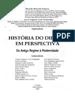 Direito e Ditaduras - História do Direito e Perspectiva