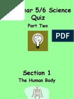Y6science Quiz Part2
