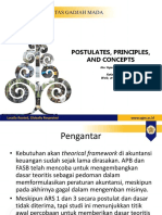 BAB 5 - Postulat, Principle, And Concept