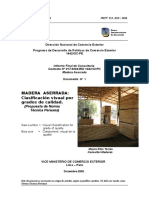 Madera Aserrada Informe Final Norma