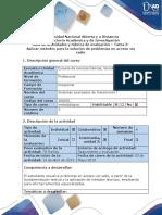 Guía de Actividades y Rúbrica de Evaluación - Tarea 3 - Aplicar Métodos Para La Solución de Problemas en Acceso Vía Radio