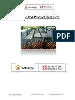 Sucker Rod Datatsheet-Huaming Energy