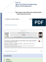 Faiq Research Paoer Low-Density and High-modulus Carbon Fibers From Polyacrylonitrile