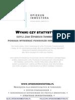 Opiekuninwestora.pl Jak Dobierac Fundusze Inwestycyjne