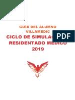 Guía Del Alumno - Ciclo de Simulacros Residentado Médico 2019