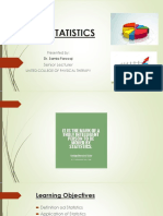 Biostatistics Lecture