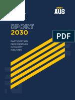 AUSTRALIA Planificación deportiva - Plan Nacional Deportivo 2030 Australia (inglés).pdf