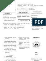 Faringgitis Leaflet