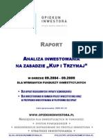 Opiekuninwestora.pl Raport Kup i Trzymaj