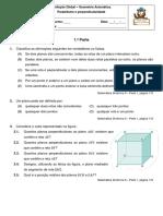 MATD9 - Geometria Axiomática. Paralelismo e perpendicularidade - Avaliação.pdf