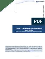 Tema 3. Técnicas y procedimientos de trabajo.pdf