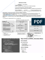 Repaso de HTML y Css3