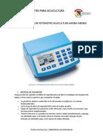 Manual Fotometro Acuicultura HI83303 U. Militar.docx