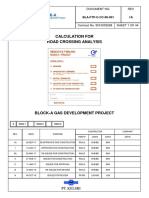 BLA FTP C CC 00 001 Rev.1A Calculation for Road Crossing Analysis