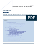 T.1 i 2. Manual Mercantil. Evolución y fuentes