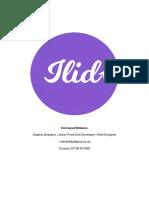 Ilid Llwyd Williams Portfolio 2019