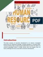8 Executive Development