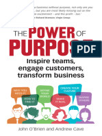 The Power of Purpose Six Steps to Unleash the Why of Your Business