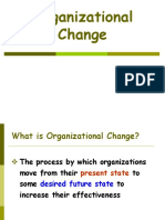 Models and Theories of Planned Change (1)